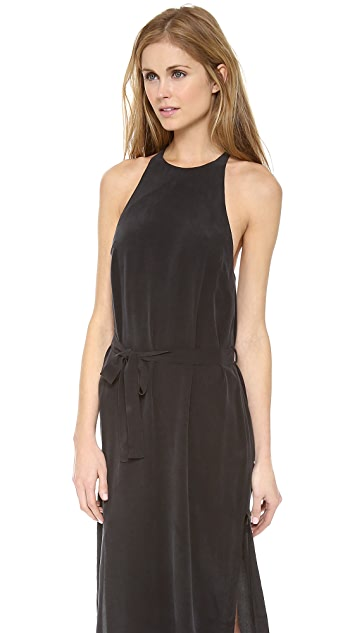 Zimmermann Silk T Bar Maxi Dress