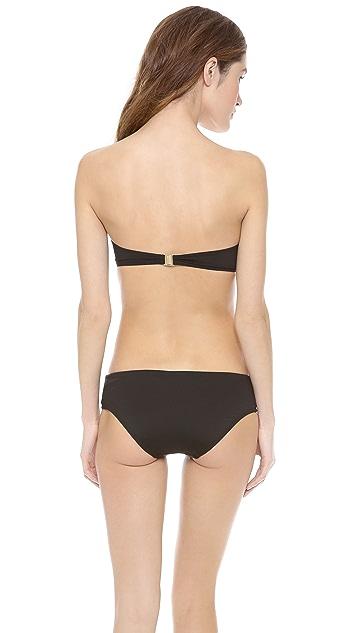 Zimmermann Vivid Teardrop Bandeau Bikini