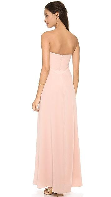 Zimmermann Silk V Long Dress