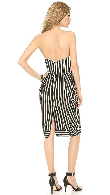 Zimmermann Tamer Tightrope Wrap Dress
