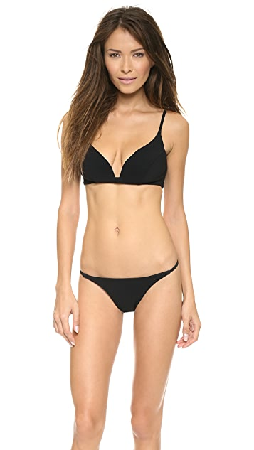 Zimmermann Sundown Bonded Plunge Bikini