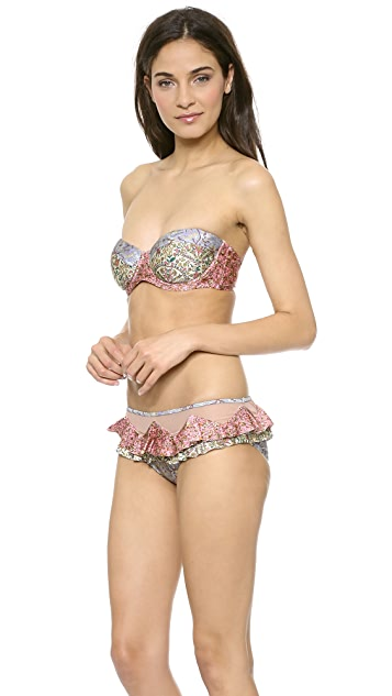 Zimmermann Roamer Frill Pant Bikini