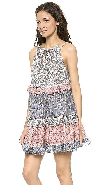 Zimmermann Roamer Cupcake Cover Up Dress