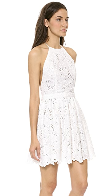 Zimmermann Roamer Halter Cover Up Dress