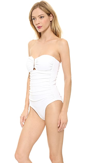 Zimmermann Wide Link One Piece Swimsuit