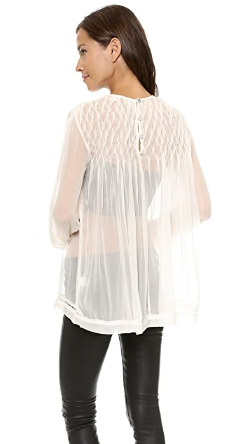 Zimmermann Tempo Lattice Blouse