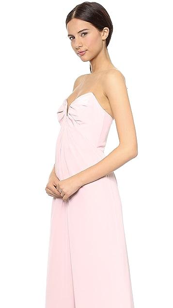 Zimmermann Silk V Maxi Dress