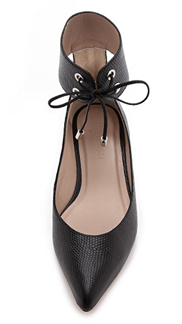 Zimmermann Tie Up Ballerina Flats