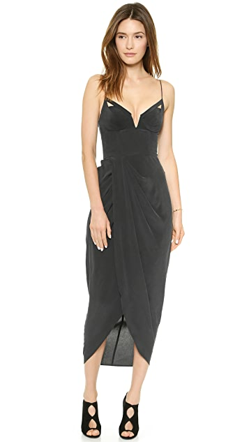 963c7071bd6b9 Zimmermann Silk Draped Maxi Dress | SHOPBOP