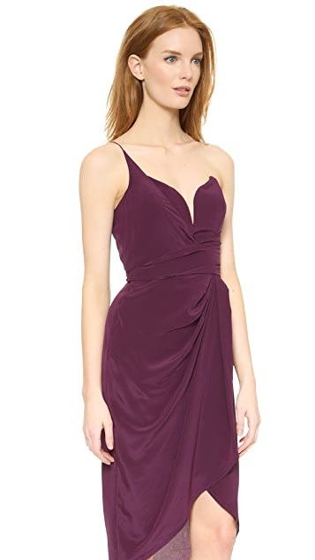Zimmermann Silk One Shoulder Dress