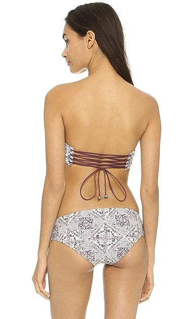 Zimmermann Ryker Lace Up Bikini