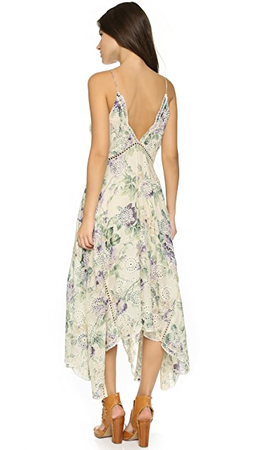 Zimmermann Lucia Embroidered Floral Dress