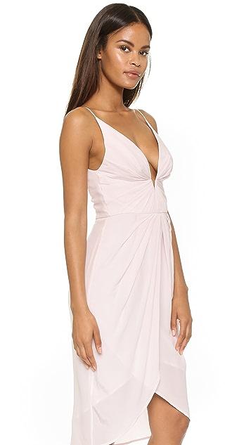 Zimmermann Silk V Tuck Dress