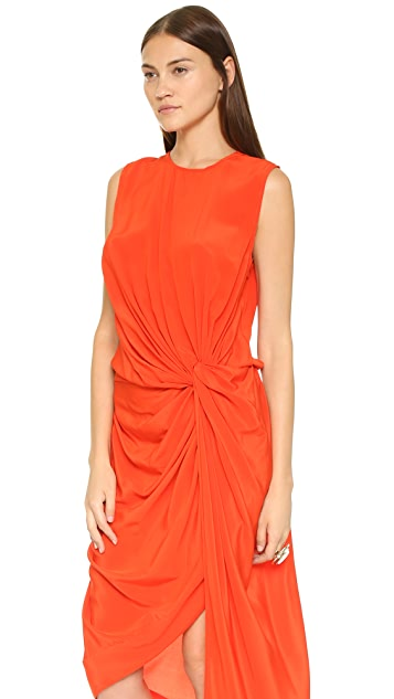 Zimmermann Silk Twist Drape Dress