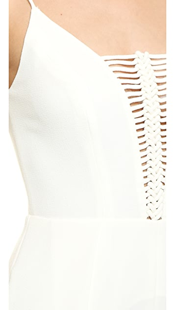 Zimmermann Crepe Braid Jumpsuit