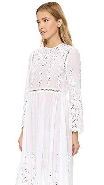 Zimmermann Broderie Split Dress