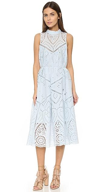 Zimmermann Epoque Broderie Panelled Dress