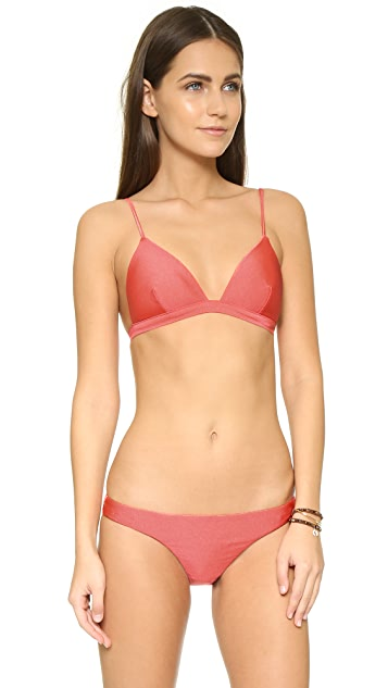 Zimmermann Belle Tri Bikini