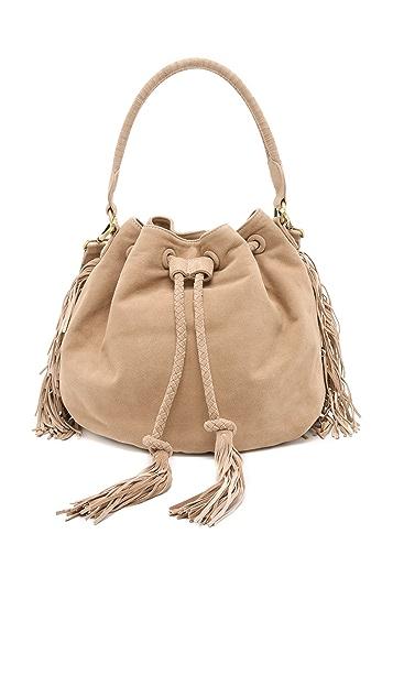 Zimmermann Suede Bucket Bag
