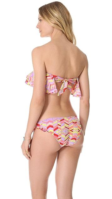 Zinke Kristen Bandeau Bikini Top