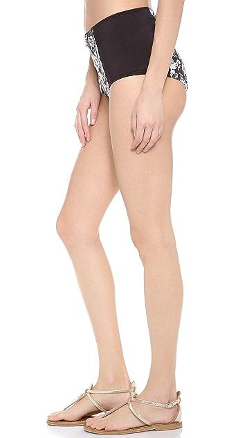 Zinke Starboard Brief Bikini Bottom