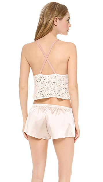 Zinke Piper Crop Top
