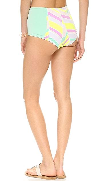 Zinke Starboard Brief Bikini Bottoms