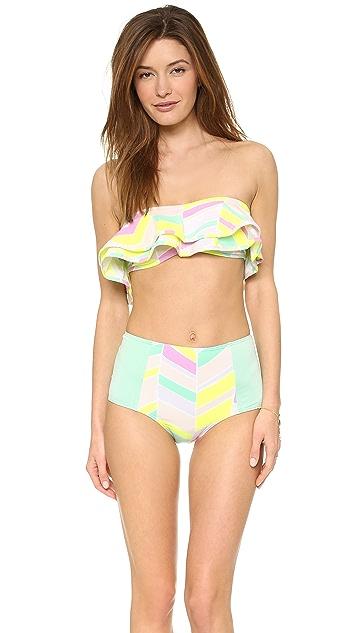 Zinke Reese Bandaeu Bikini Top