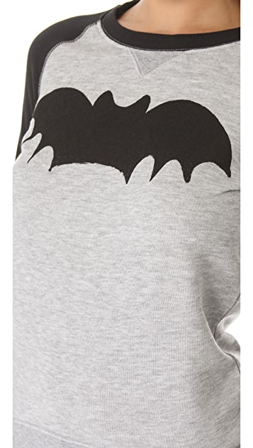 Zoe Karssen Bat Loose Fit Sweatshirt