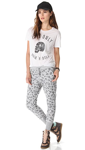 Zoe Karssen Leopard Allover Sweatpants
