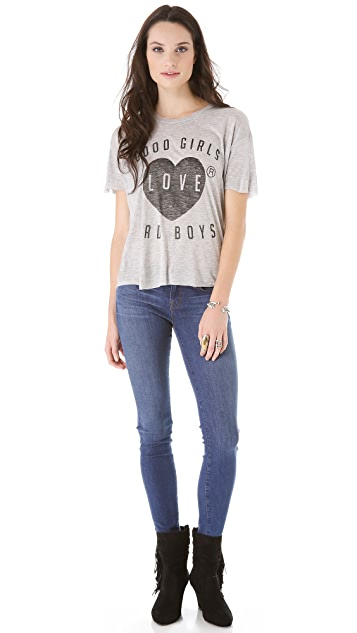 Zoe Karssen Good Girls Love Bad Boys Tee