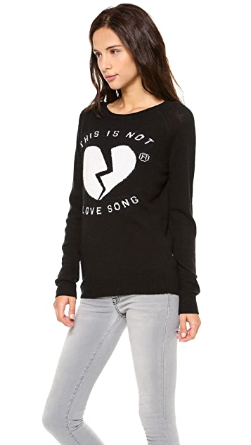 Zoe Karssen Not A Love Song Sweater