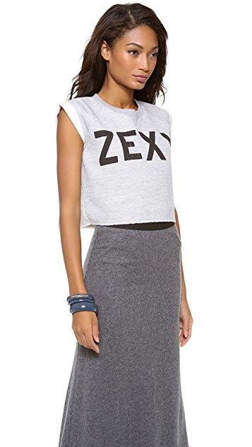 Zoe Karssen Zexy Cropped Top