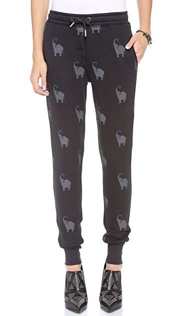 Zoe Karssen Elephant All Over Sweatpants