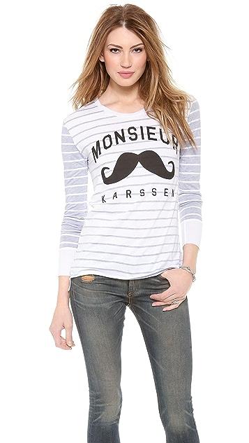 Zoe Karssen Monsieur Karssen Long Sleeve Top
