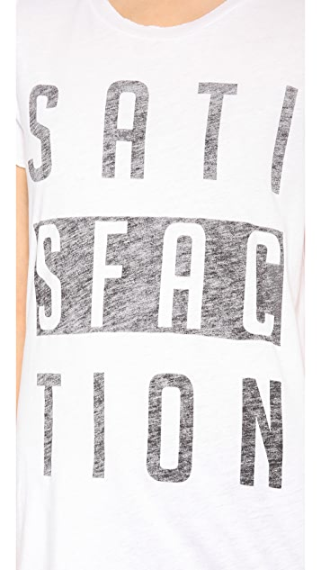Zoe Karssen Satisfaction Short Sleeve Tee