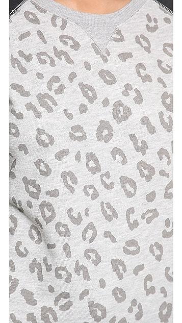 Zoe Karssen Leopard Long Sleeve Top