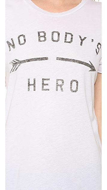 Zoe Karssen No Body's Hero Tee