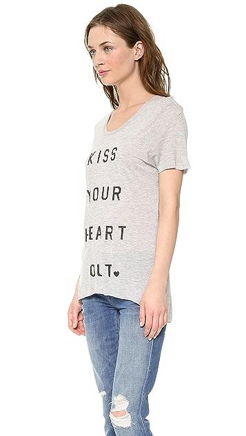 Zoe Karssen Kiss Your Heart Out Tee