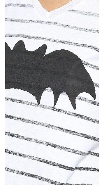 Zoe Karssen Bat Striped Tee