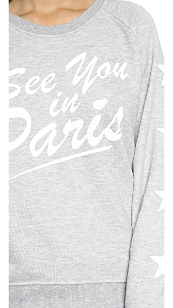 Zoe Karssen See You in Paris Sweater