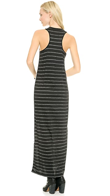 Zoe Karssen Striped Maxi Dress