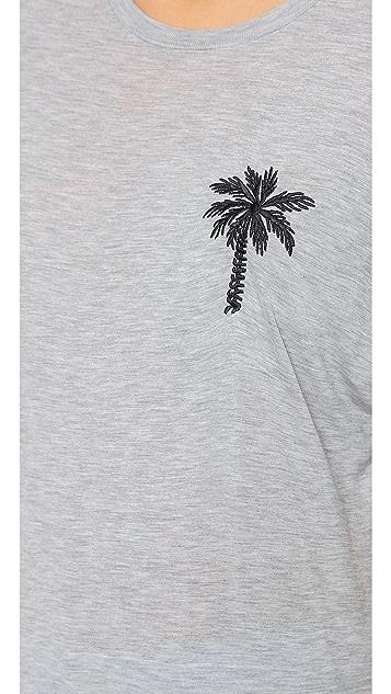 Zoe Karssen Palm Tree Tee