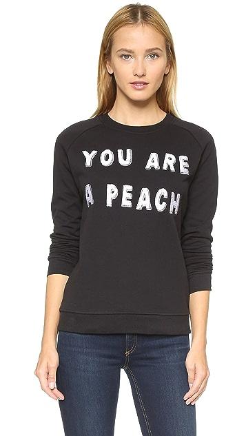 Zoe Karssen You Are a Peach Pullover
