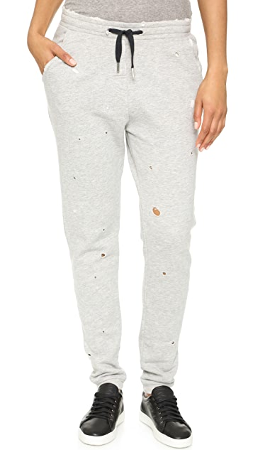 Zoe Karssen Distressed Sweatpants