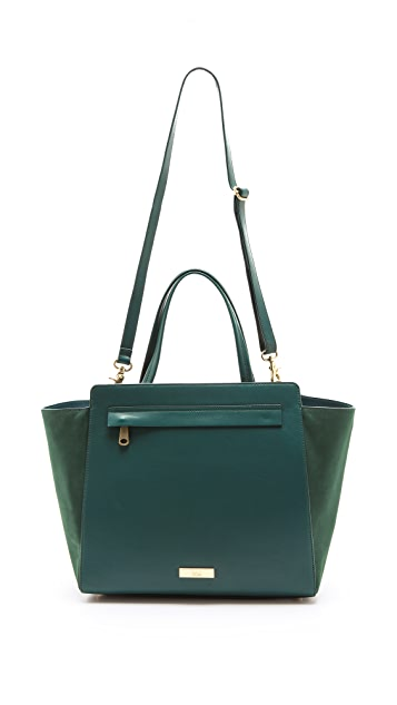 ZAC Zac Posen Shirley North South Soft Satchel