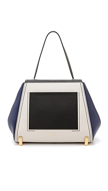 ZAC Zac Posen Colorblock Daphne Shoulder Bag