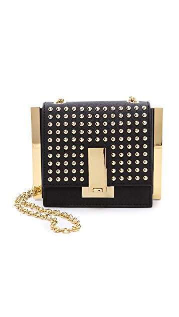 ZAC Zac Posen Studded Loren Mini Cross Body Bag