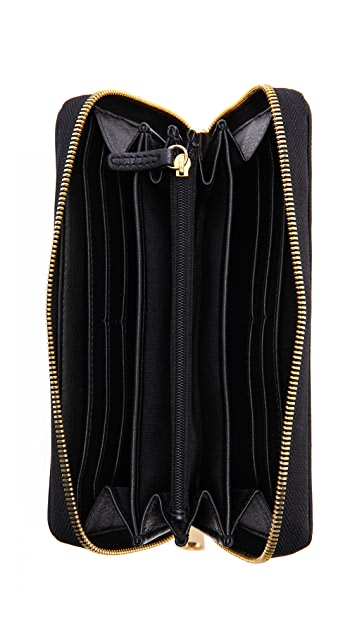 ZAC Zac Posen Basic Milla Zip Around Organizer