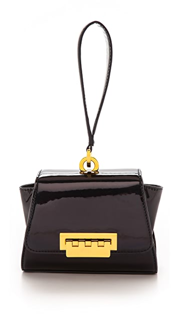 ZAC Zac Posen Patent Eartha Mini Wristlet